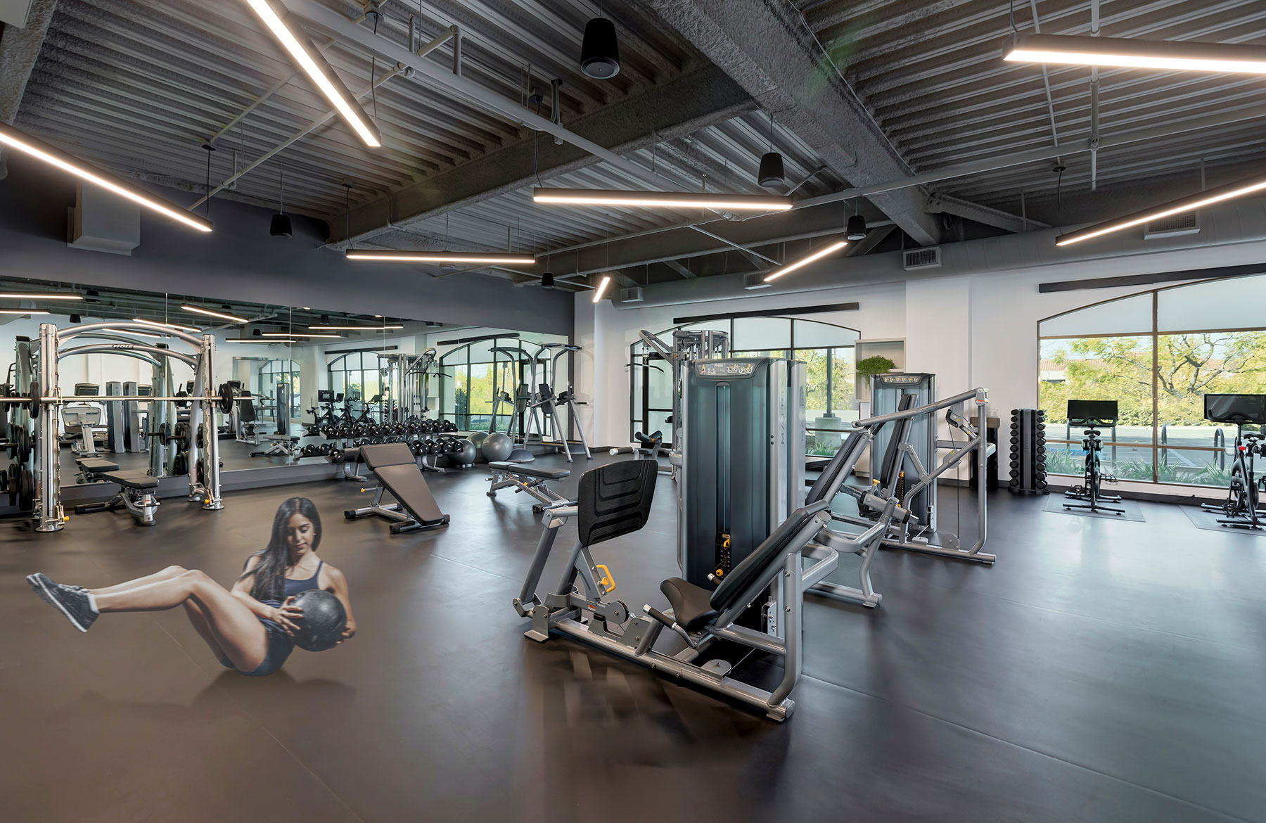 Calabasas Park Center Building Fitness