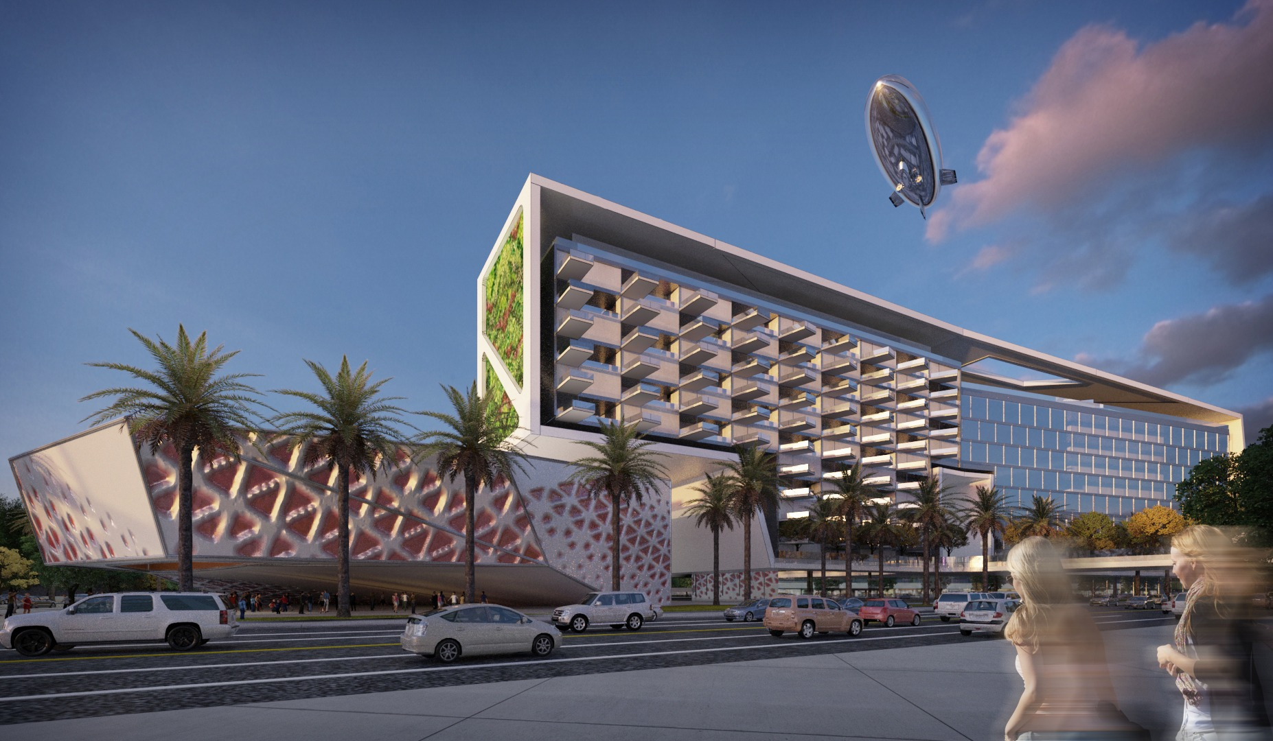 Mixed Use Hotel complex